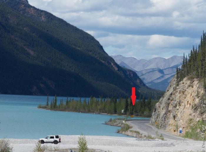 British Columbia Muncho Lake Site 2018-131