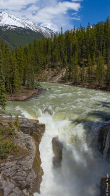Jasper Icefields Parkway Athabasca and Sunwapta Falls-104