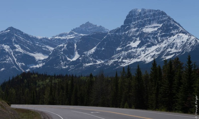 Jasper Icefields Parkway Athabasca and Sunwapta Falls-14